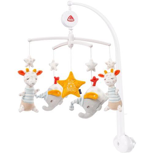 Fehn Mobile Gute Nacht, mit Spieluhr und Glow-in-the-dark-Bestickung bunt Kinder Mobiles Baby Kleinkind