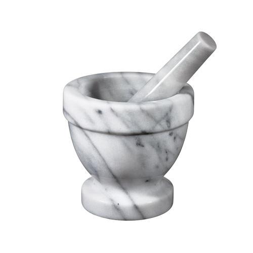 Neuetischkultur Marmor mit Stößel Marmor
