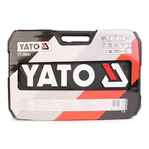 YATO Werkzeugset YT-38941 Werkzeugsatz,Steckschlüsselsatz,Werkzeug Set,Werkzeug Kit
