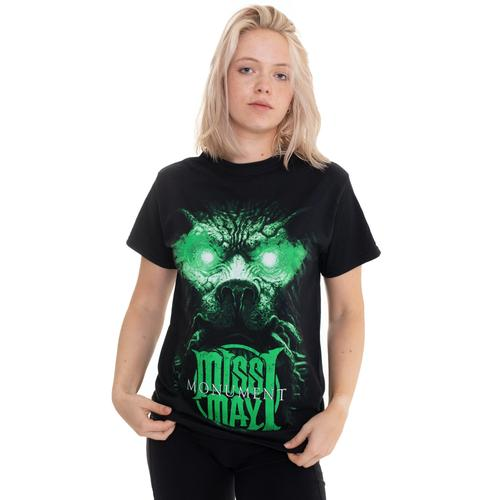 Miss May I - Monument Green Lion - - T-Shirts