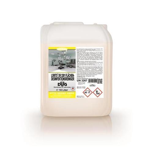 Lorito DR 3301 Flächendesinfektionmittel Desinfektionsreiniger Konzentrat 10 L