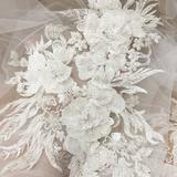 Robe de mariée en cristal 3D per...