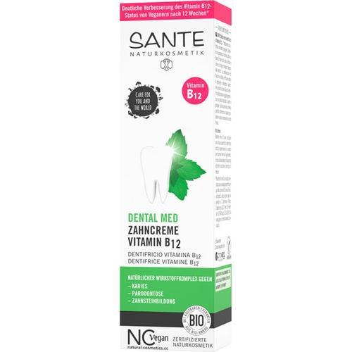 Sante Zahncreme Vitamin B12 mit Fluorid Zahnpasta 75 ml