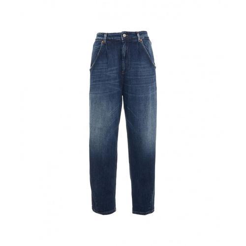 Dondup Damen Jeans Claire Blau