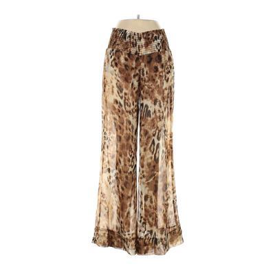 Show Me Your Mumu Casual Pants - Mid/Reg Rise: Tan Bottoms - Size Medium