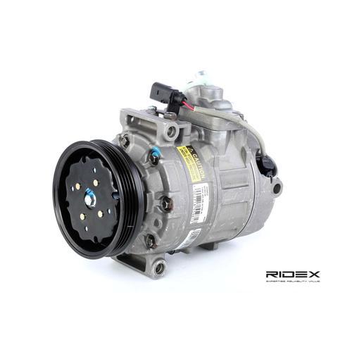 RIDEX Kompressor 447K0103 Klimakompressor,Klimaanlage Kompressor AUDI,A4 Avant 8E5, B6,A6 Avant 4B5, C5,A4 8E2, B6,A6 4B2, C5