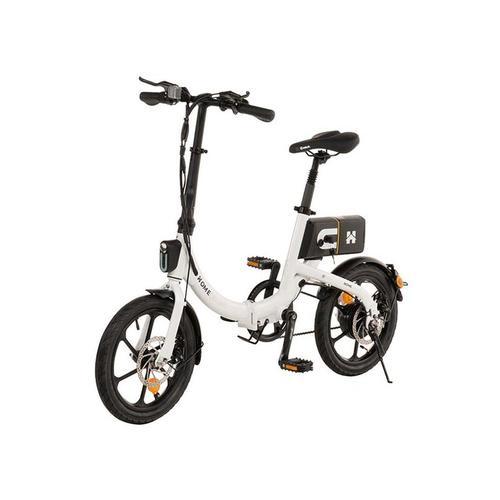Klapprad E-Bike Bumbee I Ebike, Fahrrad, Elektrofahrrad I weiß - Home Deluxe