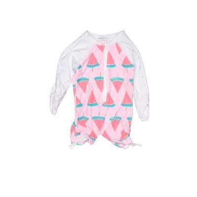 Snapper Rock Wetsuit: Pink Sport...