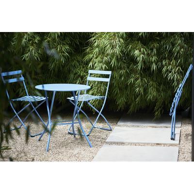 jankurtz Klapptisch fiam sirio, mit quadratischer Tischplatte blau Campingmöbel Camping Schlafen Outdoor