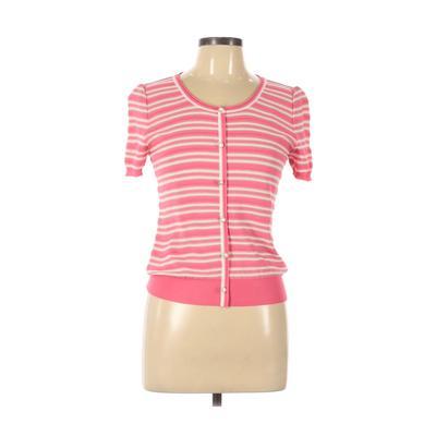 O'Girl Cardigan Sweater: Pink Stripes Sweaters & Sweatshirts - Size 11