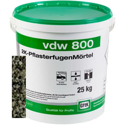 vdw 800 Pflasterfugenmörtel basalt 25kg
