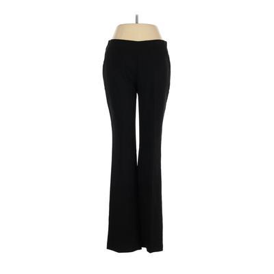 Chico's Dress Pants - Mid/Reg Rise: Black Bottoms - Size X-Small