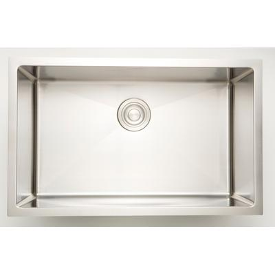 27-in. W CSA Approved Stainless Steel Kitchen Sink With Stainless Steel Finish And 18 Gauge - American Imagination AI-27515