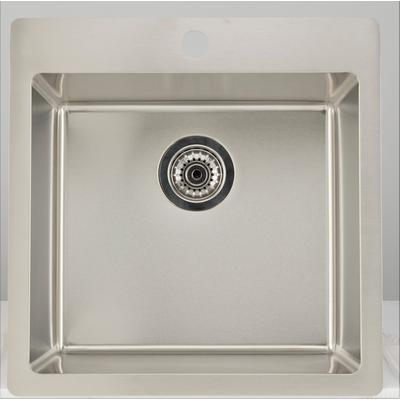 19.75-in. W CSA Approved Stainless Steel Kitchen Sink With Stainless Steel Finish And 18 Gauge - American Imanginations AI-27693