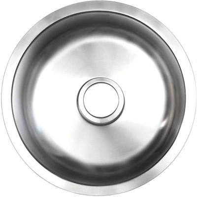 16.5-in. W CUPC Approved Brushed Nickel Kitchen Sink With Brushed Nickel Finish And 20 Gauge - American Imanginations AI-29385