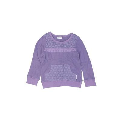 Naartjie Kids - Naartjie Kids Sweatshirt: Purple Solid Tops - Size 5