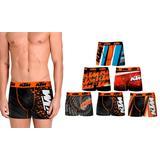 Pack de 6 boxers KTM en microfib...