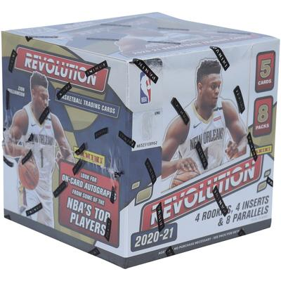 """2020-21 Panini Revolution Basketball Factory Sealed 8-Pack Hobby Box"""