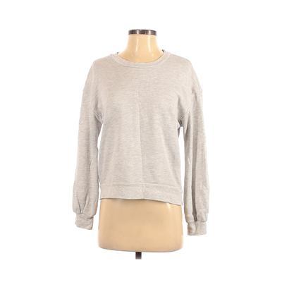 Nation LTD - Nation LTD Sweatshirt: Gray Clothing - Size Small