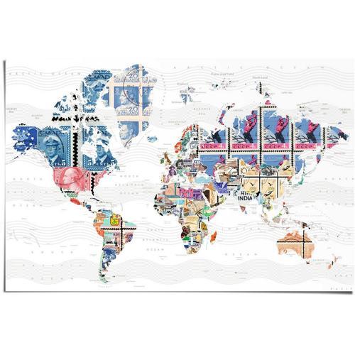 Reinders! Poster »Welt der Briefmarken«, (1 Stück)