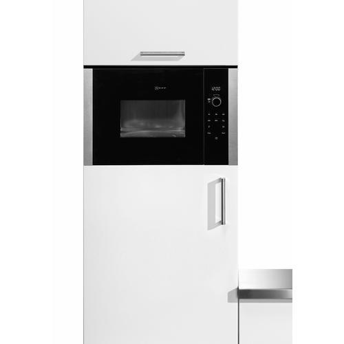 NEFF Einbau-Mikrowelle N 50 HLAWD23N0, Mikrowelle, 800 W silberfarben Mikrowelle SOFORT LIEFERBARE Haushaltsgeräte