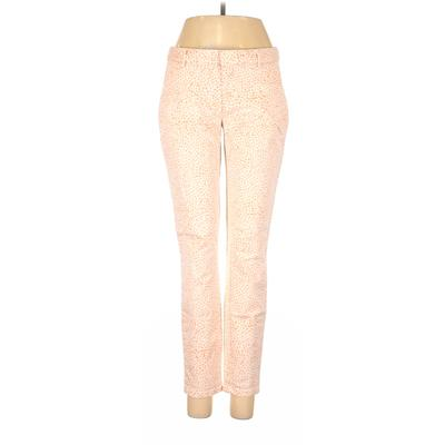 Gap Khaki Pant: Pink Print Botto...