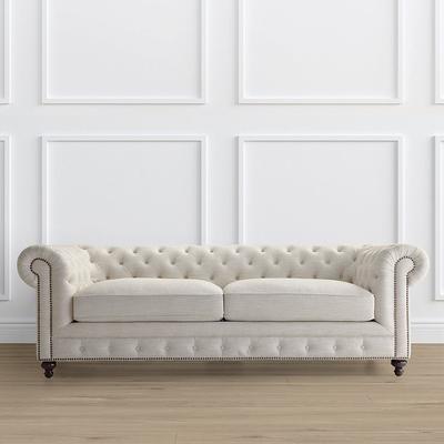 Barrow Chesterfield Sofa - Pecan...