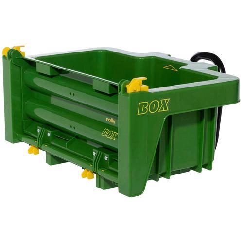 Rolly Toys Kinderfahrzeug-Anhänger, Anhängerbox für Tretfahrzeug grün Kinder Zubehör Kinderfahrzeuge Kinderfahrzeug-Anhänger