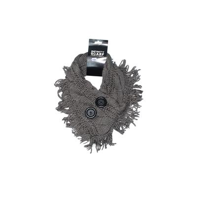 East Concept Fashion LTD Scarf: Gray Solid Accessories