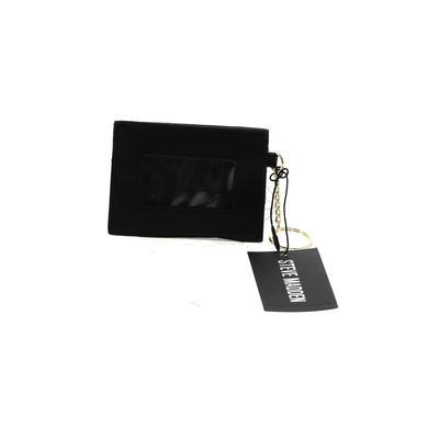 Steve Madden Card Holder: Black Solid Bags