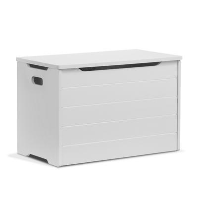 Farmhouse Toy Box in White - Sorelle Furniture 61000-W