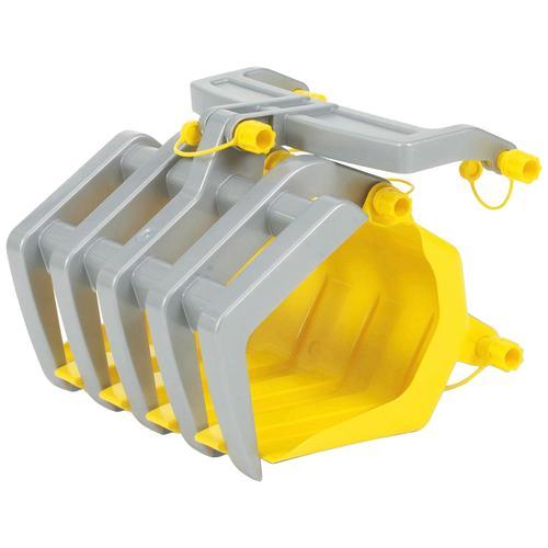 Rolly Toys Kinderfahrzeug-Schaufel Timber Loader, für Tretfahrzeuge gelb Kinder Zubehör Kinderfahrzeuge