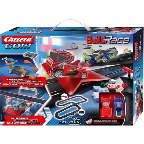 Carrera Autorennbahn GO - Build 'n Race Racing Set 6.2 bunt Kinder Autorennbahnen Autos, Eisenbahn Modellbau