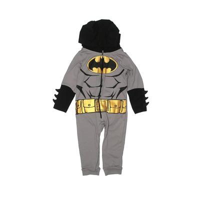 Batman Costume: Gray Accessories – Size 12 Month