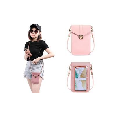 Touch Screen Mobile Phone Bag: Black