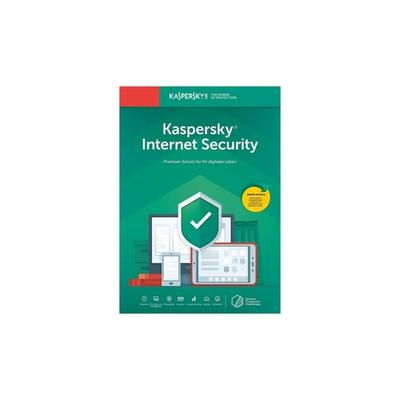 Antivirus Kaspersky Internet Security 2021 : 1 appareil / 1 an