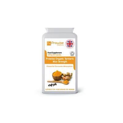 120 Capsules of Organic Turmeric Supplement