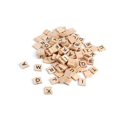 Holz-Scrabble-Buchstaben: 200