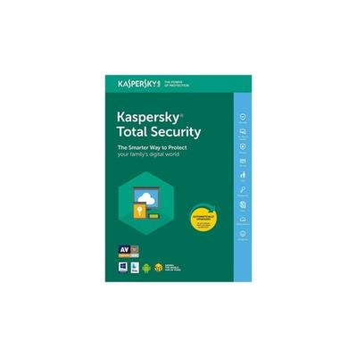 Kaspersky Total Security 2021 : 3 PC / 2 ans