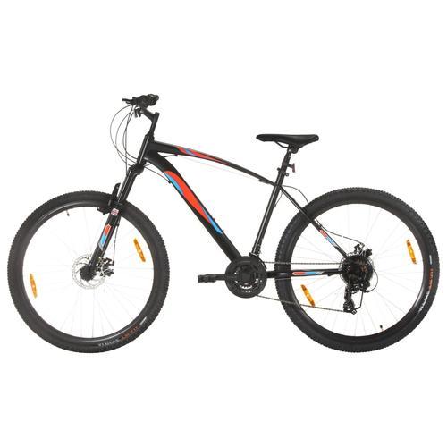 vidaXL Mountainbike 21 Gang 29 Zoll Rad 48 cm Rahmen Schwarz