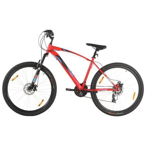 vidaXL Mountainbike 21 Gang 29 Zoll Rad 48 cm Rahmen Rot