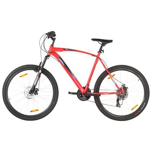 vidaXL Mountainbike 21 Gang 29 Zoll Rad 58 cm Rahmen Rot