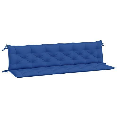 vidaXL Auflage für Hollywoodschaukel Blau 200 cm Stoff