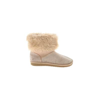 The Children's Place - The Children's Place Ankle Boots: Tan Solid Shoes - Size 2