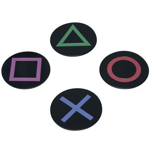 Playstation Playstation Icons Untersetzer - multicolor - Offizieller & Lizenzierter Fanartikel