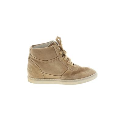 Woman by Common Projects - Woman by Common Projects Sneakers: Tan Solid Shoes - Size 39