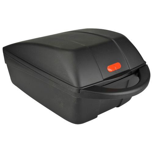 FISCHER Fahrradgepäckbox, abschließbar mit zwei Schlüsseln, Diebstahlsicherung