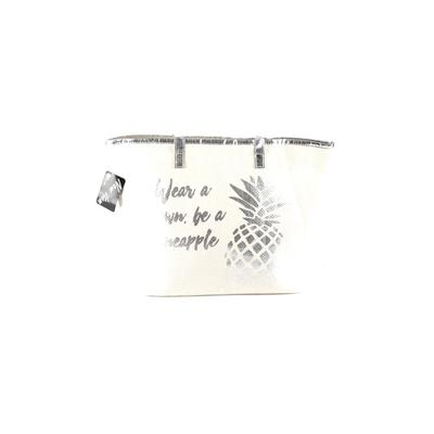 Love Of Fashion Tote Bag: Ivory Solid Bags