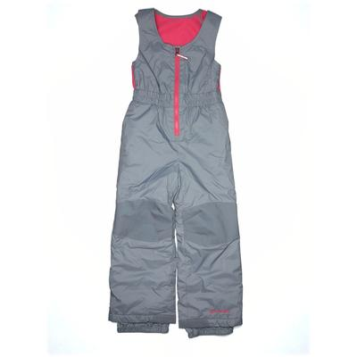Columbia Snow Pants With Bib - Mid/Reg Rise: Blue Sporting & Activewear - Size X-Small