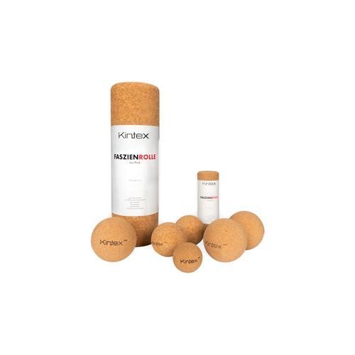 Kintex Faszien Set : 2x Faszienrolle (33 cm + 15 cm)